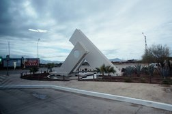 Modern triangular sculpture in Ensenada.jpg